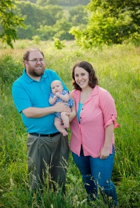 Jonathan, Beth, & Miriam at Shaker Village